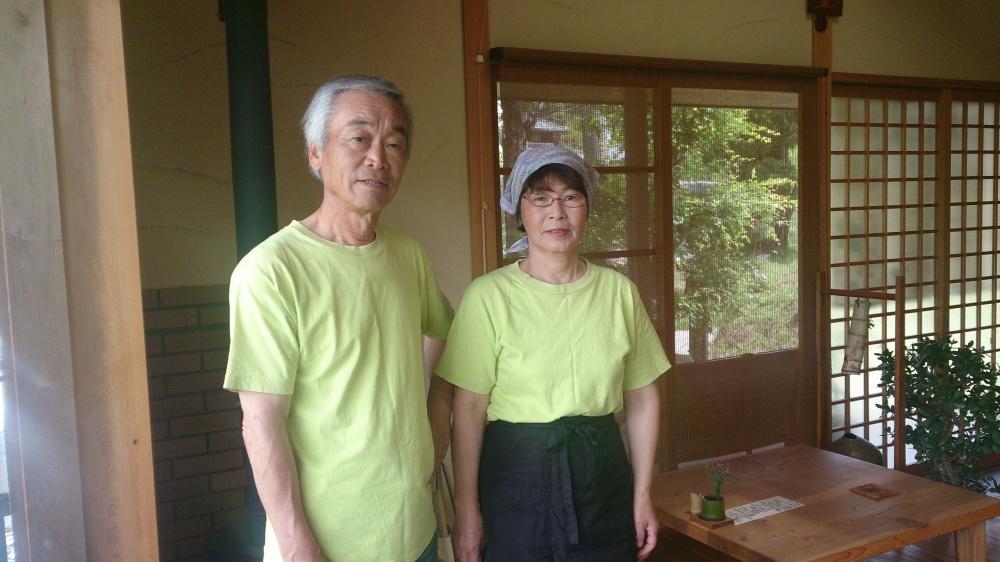 土日亭画像西山夫妻